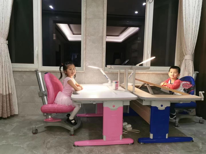 益卡思儿童学习桌椅   -7
