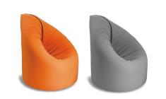 益卡思-休闲沙发床垫 橘+灰